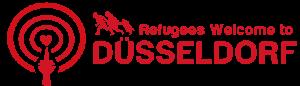 Flüchtlinge Willkommen In Düsseldorf