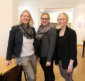 v.l.: Stephanie Müller, Leona Effertz, Andrea Schmitz (Foto: Annette Schüller)