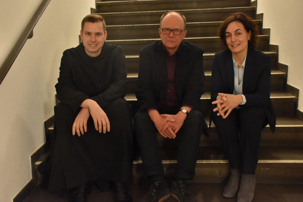 Pater Philipp Meyer, Pfarrer Dr. Wolfgang Reuter, Maria Mesrian (Foto: Annette Schüller)