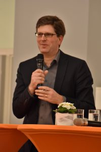 2020_02_06 Vortrag Macht in der Kirche_Daniel Bogner Foto: Annette Schüller